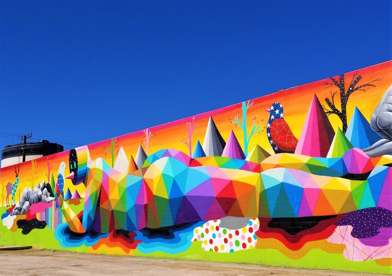 downtown-las-vegas-dtlv-rainbow-street-art-life-is-beautiful-mural-Okuda-San-Miguel