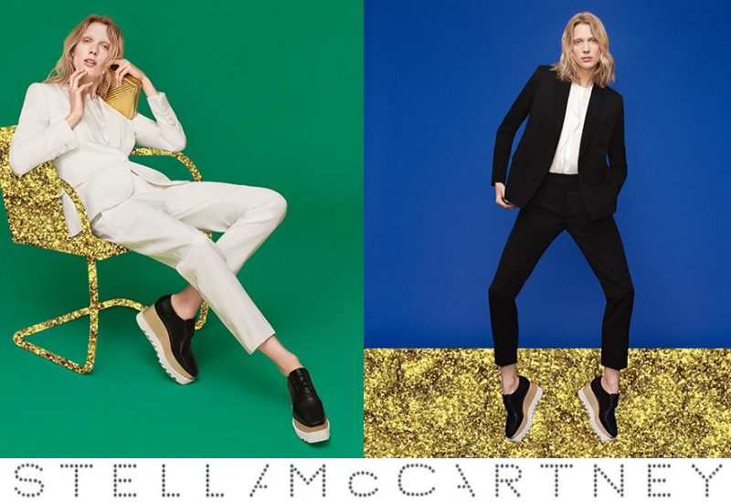STELLA MCCARTNEY RESORT 2016 WHITE RIBBON CAMPAIGN
