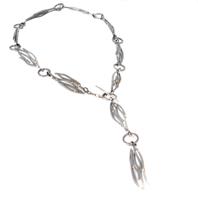 Long Wave Lariat Necklace- this necklace is part of the Beauty and the Beach collection and can be worn multiple ways.