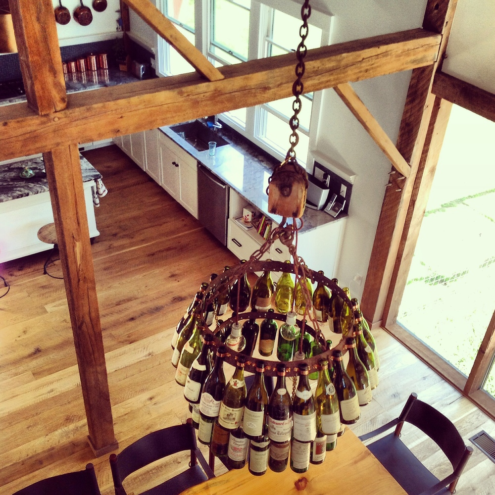 Detail Bottle Chandelier