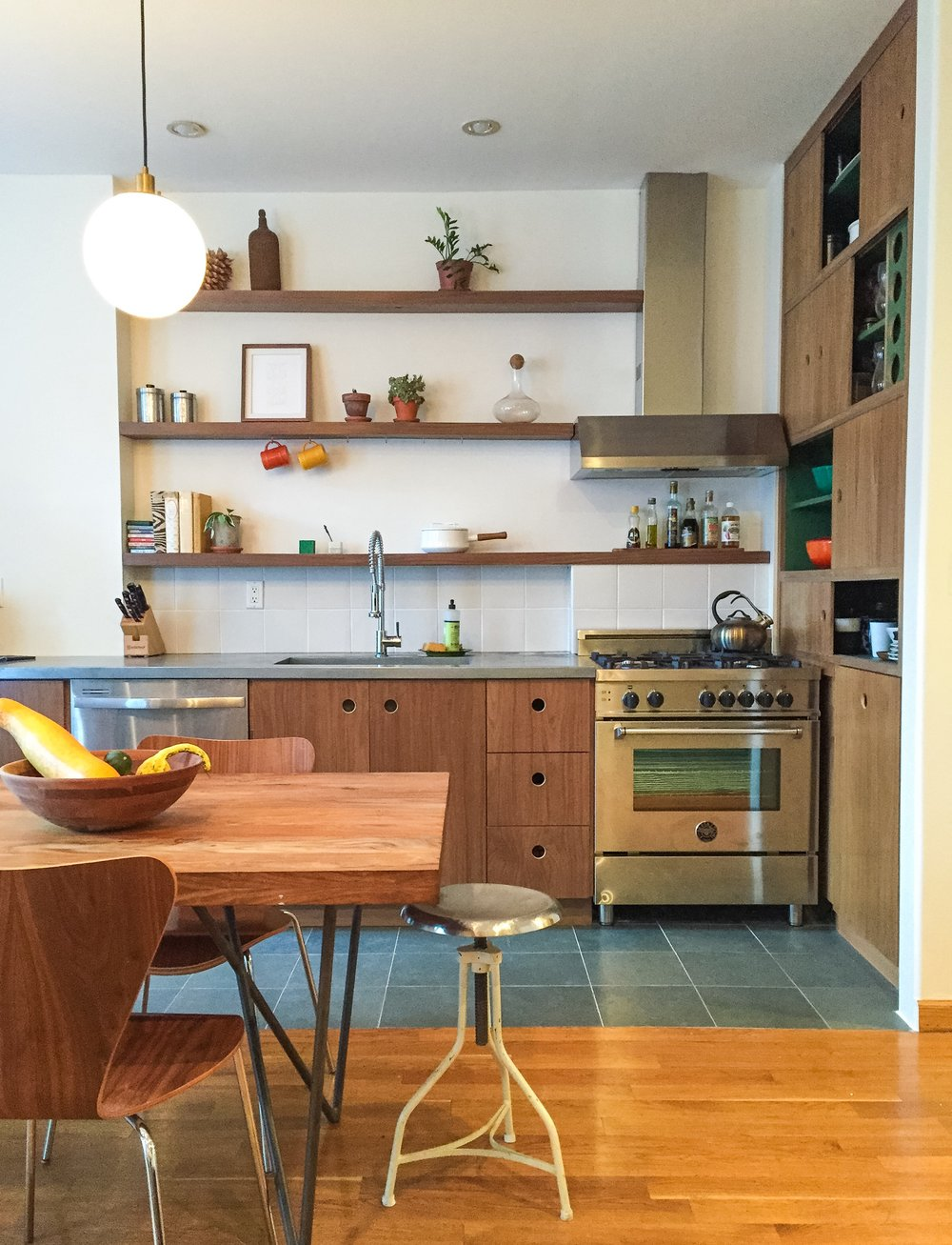 Brooklyn MidMod Kitchen