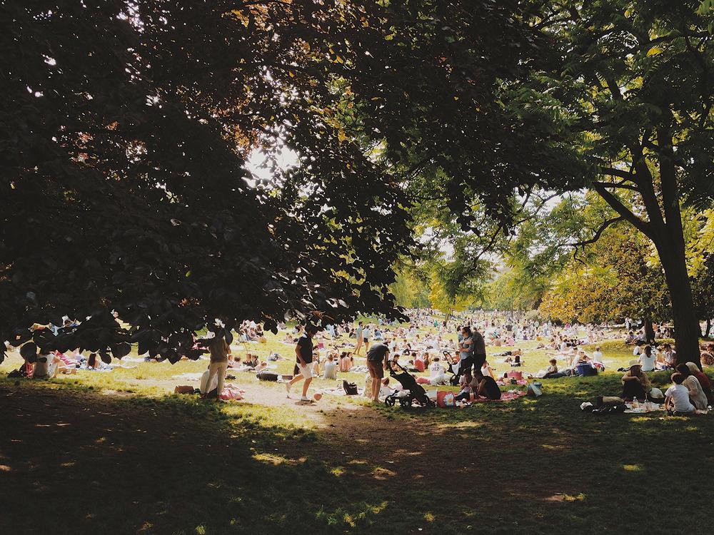 Enjoy a picnic at Paris' free outdoor concerts on the Fete de la Musique.