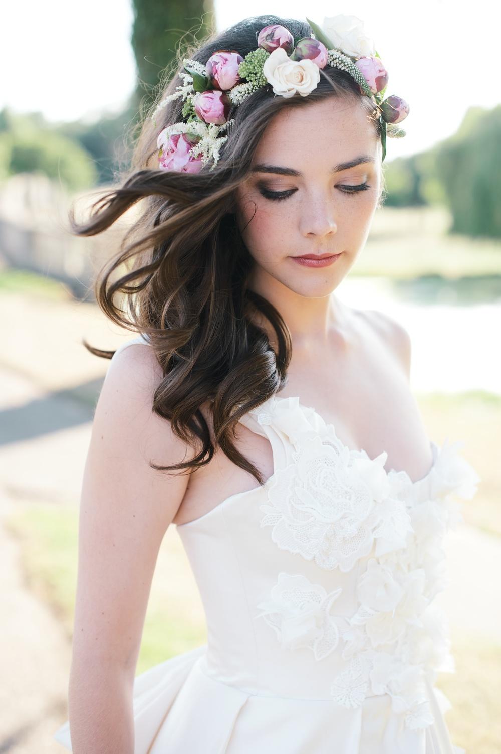 Bridal makeup style shoot