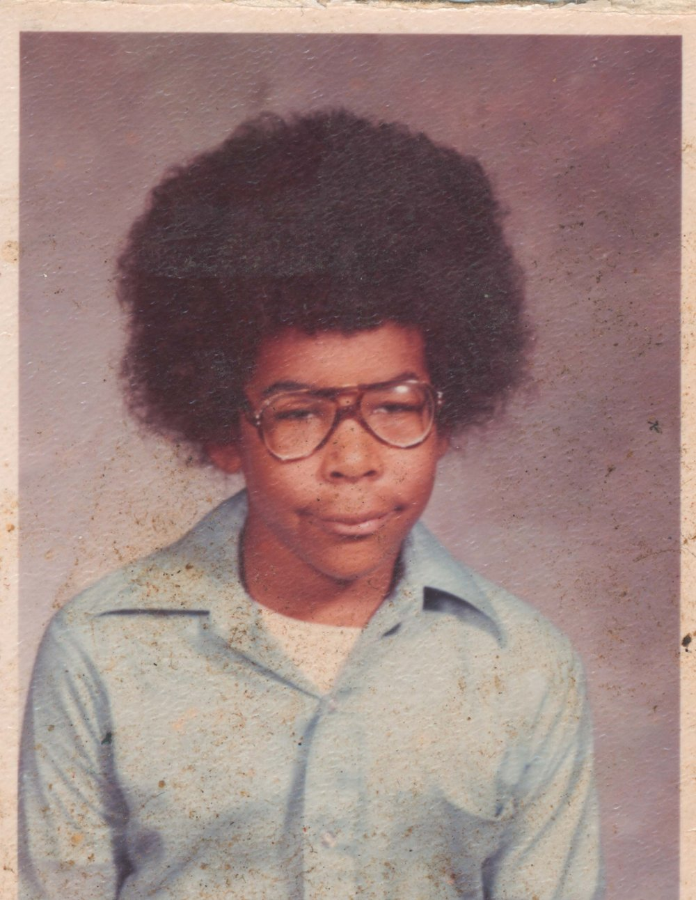 Mississippi  - My 4th grade school picture from Ward Elementary School in Starkville, Mississippi.