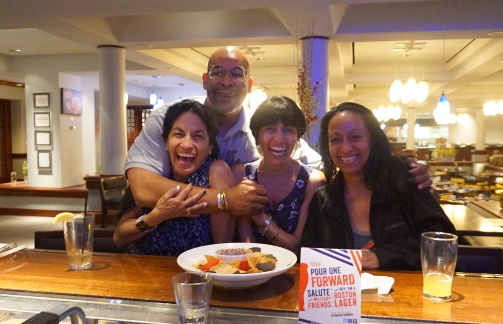 New Mexico - At a hotel bar in Albuquerque, I met these 3 sisters who buried bur their father earlier in the day.After finding out that it was my birthday, the bossy sister - the one on the left - proclaimed,
