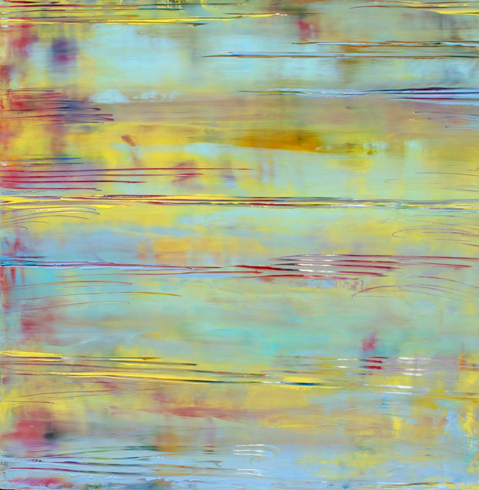 Yellow Waves III