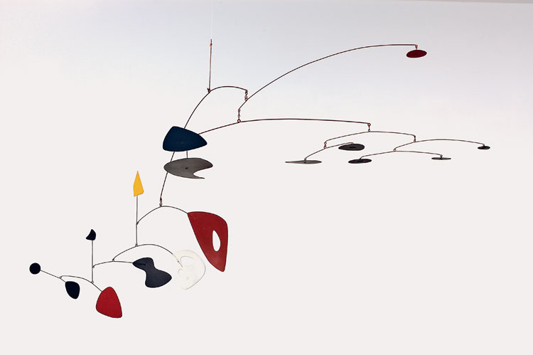 "Alexander Calder's mobile ""Yellow Sail"" from 1951"