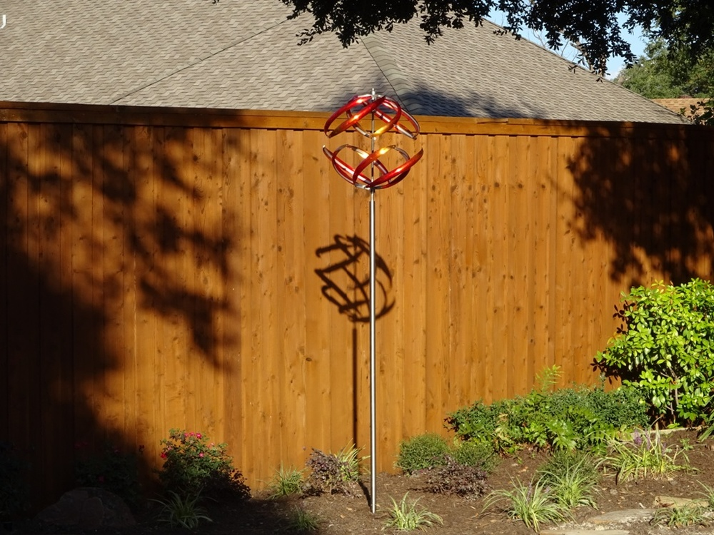 """Installed the Orb 6 - it looks great! Thanks"" John G., Dallas, Texas"