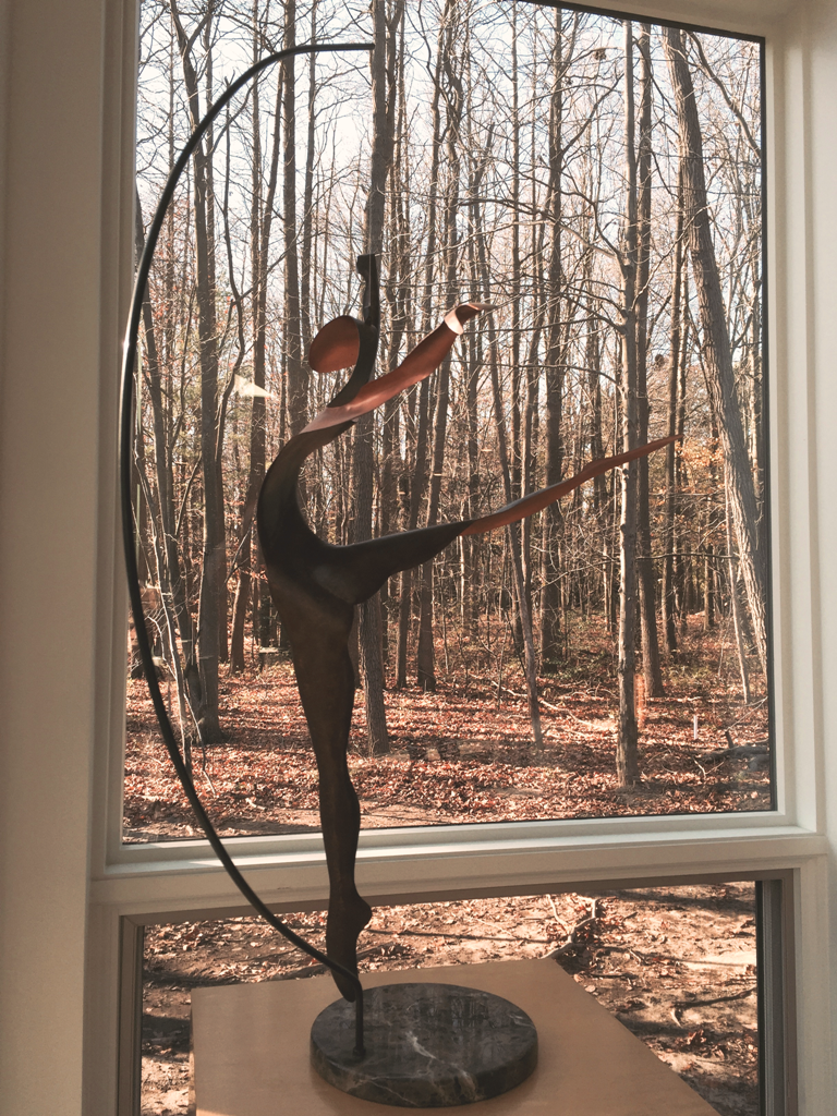 """We purchased this copper dancer by Mark White about 20 years ago - now it is at our niece's house and she is absolutely thrilled!"" - Alice D., Topeka, Kansas"