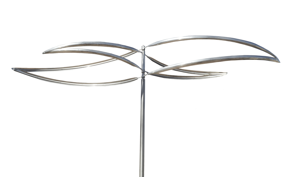Call (505-982-2073) or email us (info@markwhitefineart.com) for more information on our newest wind sculpture!