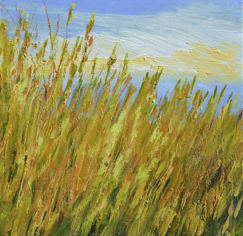 Green Gold Grass