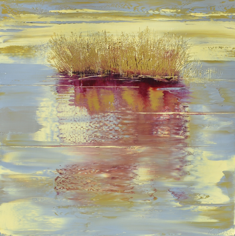 Mark White, Dawn's Early Light V, Oil on canvas
