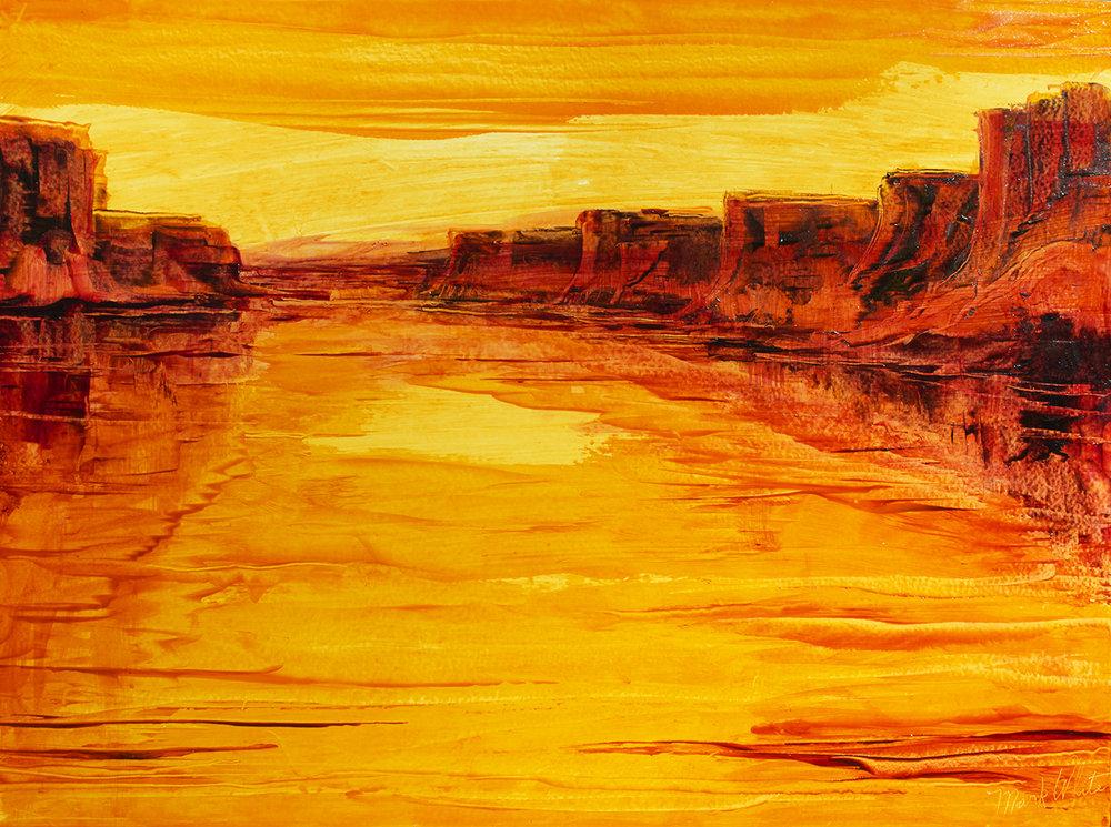 Colorado River Reflection II