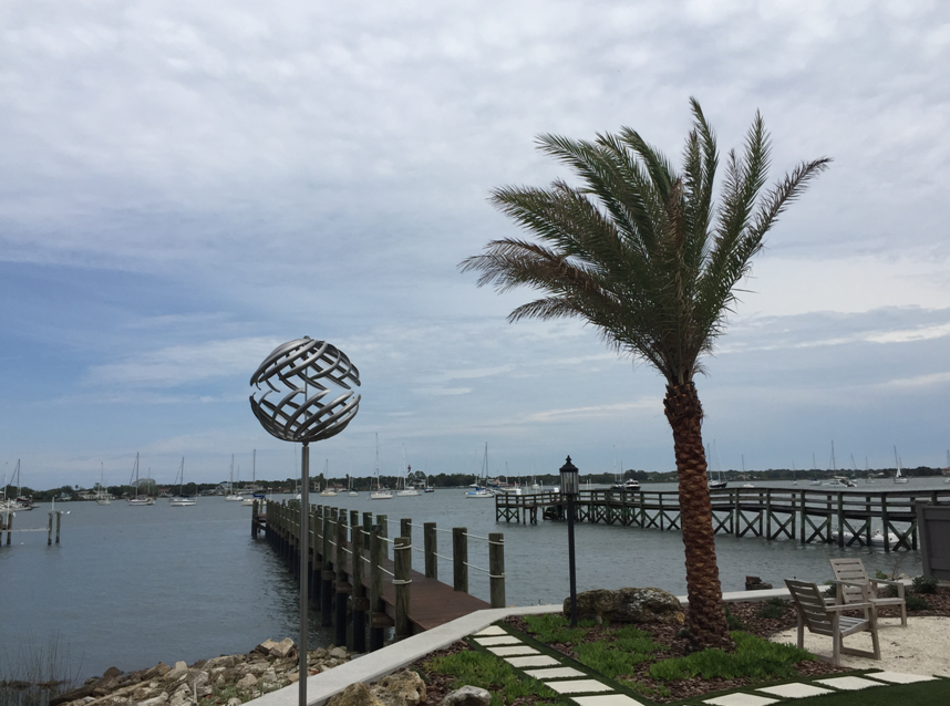 A stainless steel Orb 12 installed in Northeast Florida.