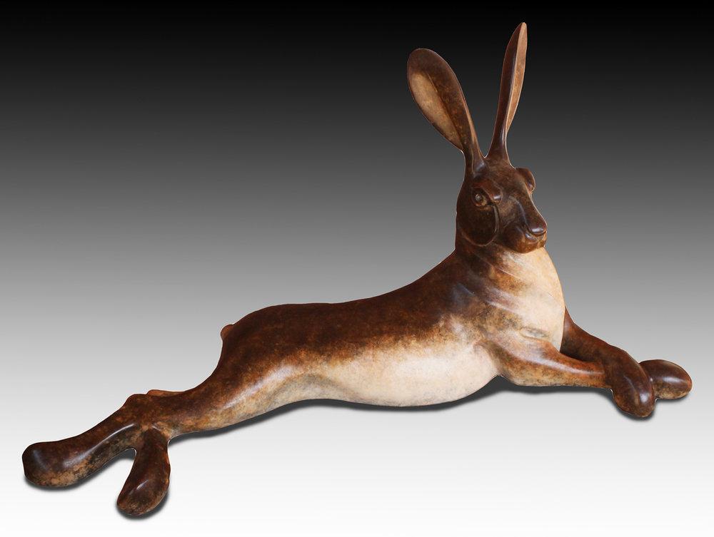 Lying Jack Rabbit