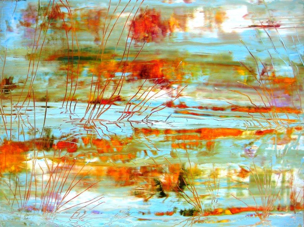 Grass Reflections III