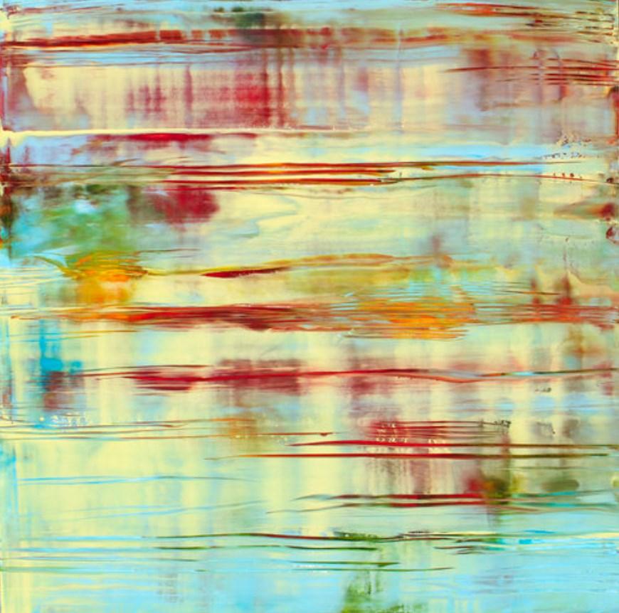 Pastel Yellow Reflections - Mark White