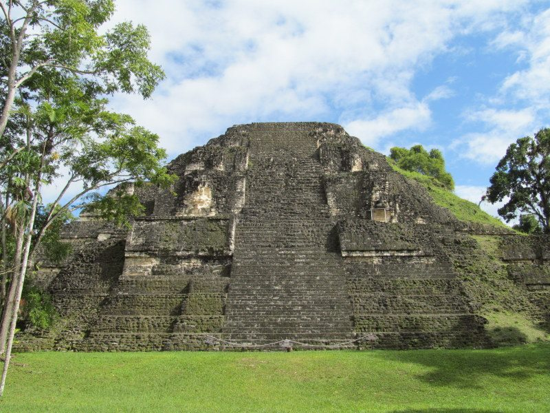 Mayan Ruins in Tikal, Guatemala.