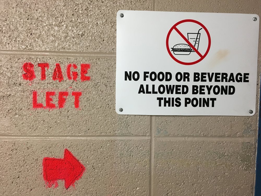 Backstage at The Grand in Wilmington