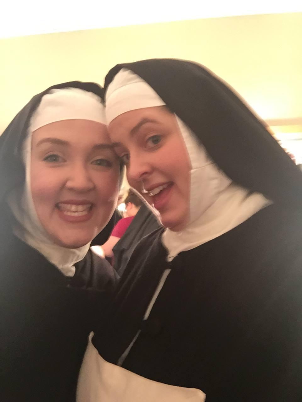 Sister selfies with the Nursing Sister