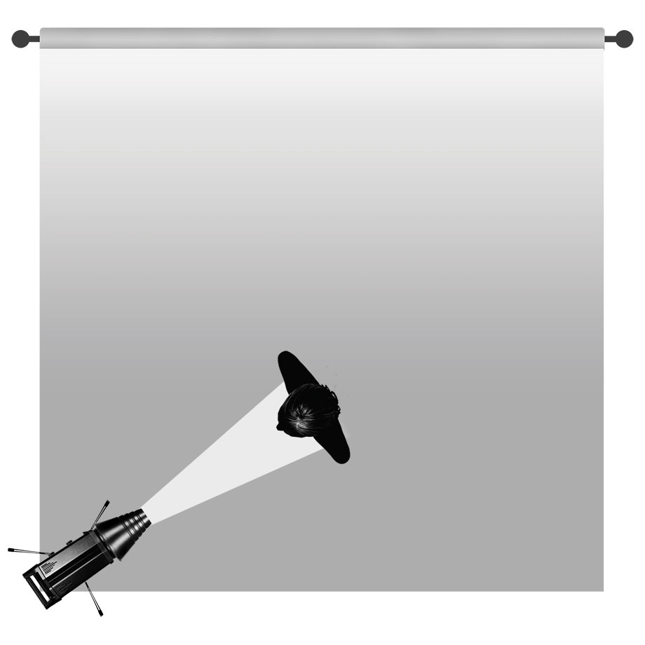 Key light: Gemini with Snoot
