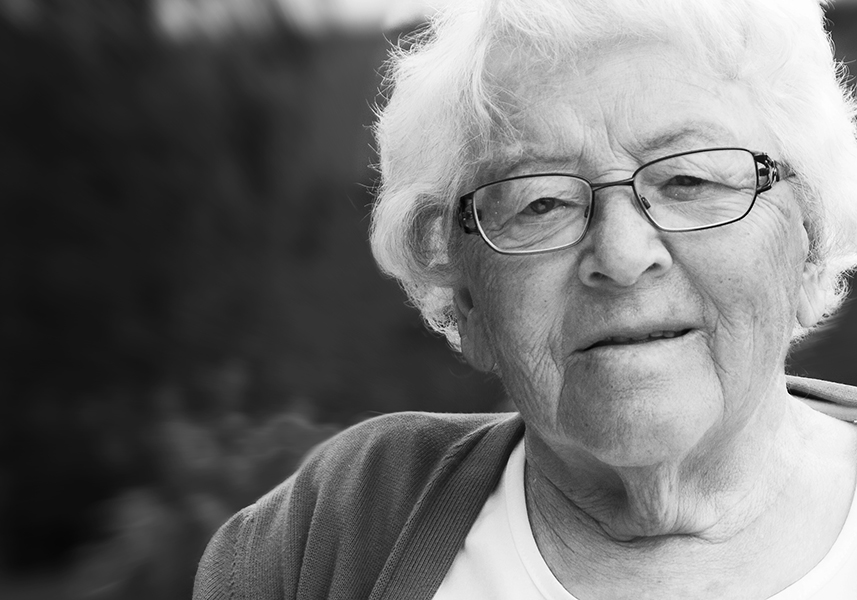 My grandmother Rut.