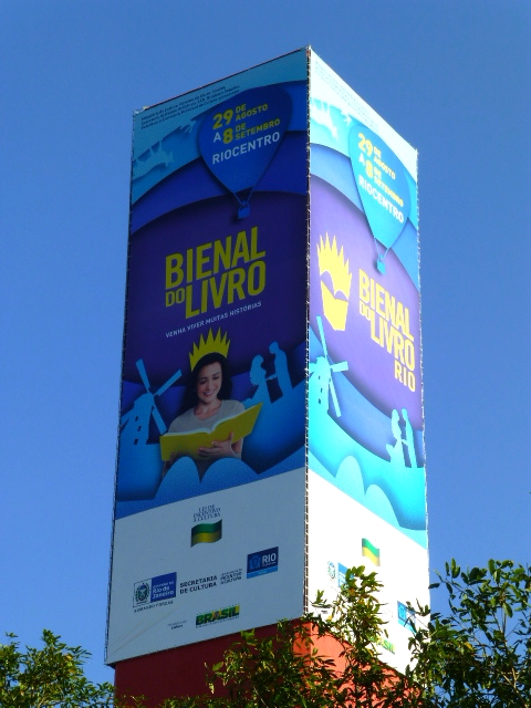 Cliente : Riocentro   Evento : Bienal do Livro