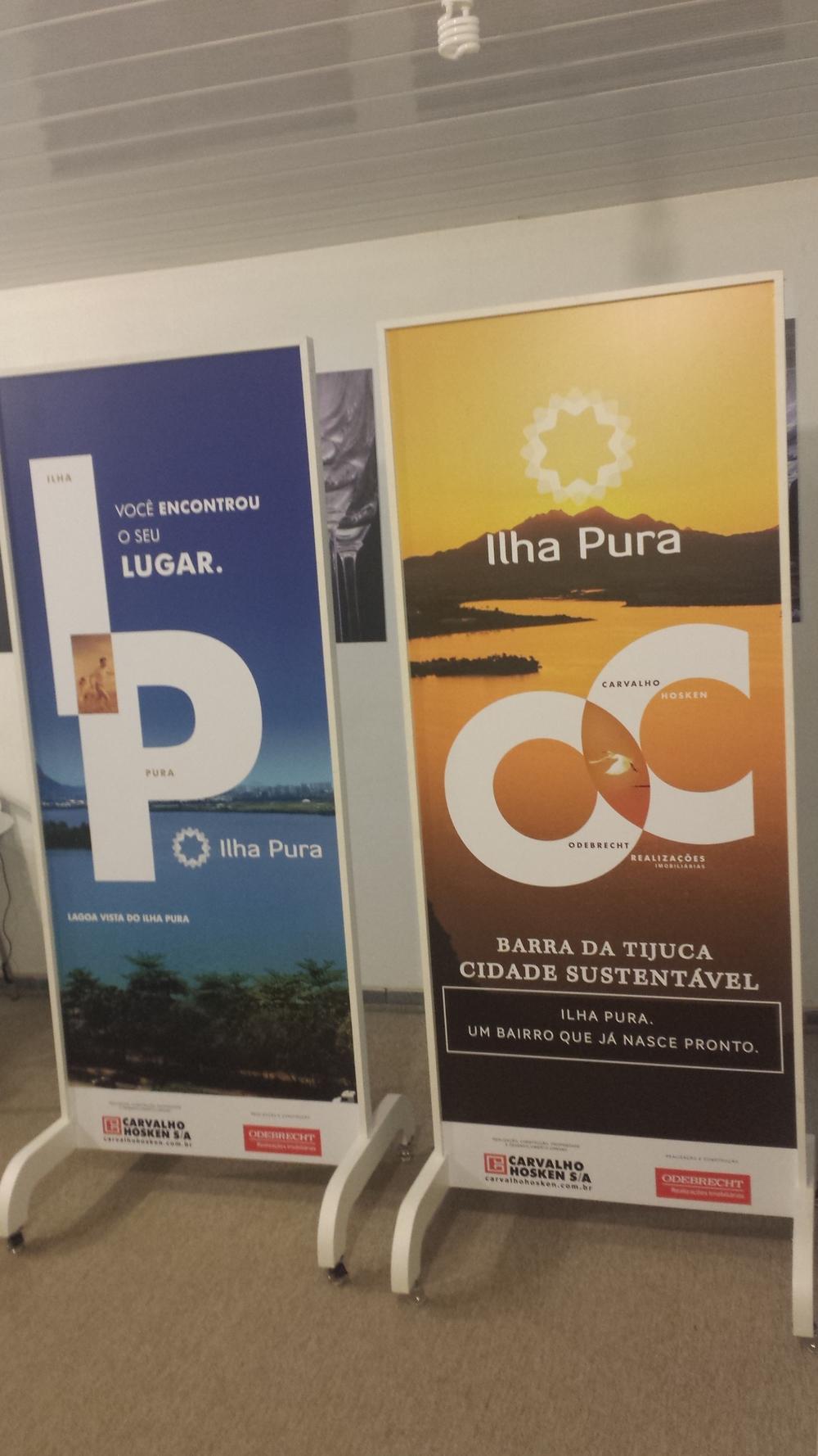 Incorporadora : Odebrecht e Carvalho Hosken | Empreendimento : Ilha Pura