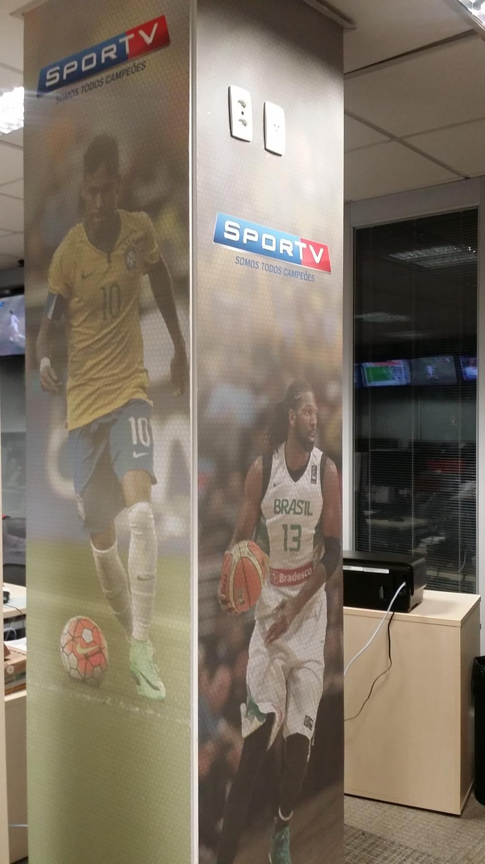 Redação do canal SporTV | Cliente: Agência Sides