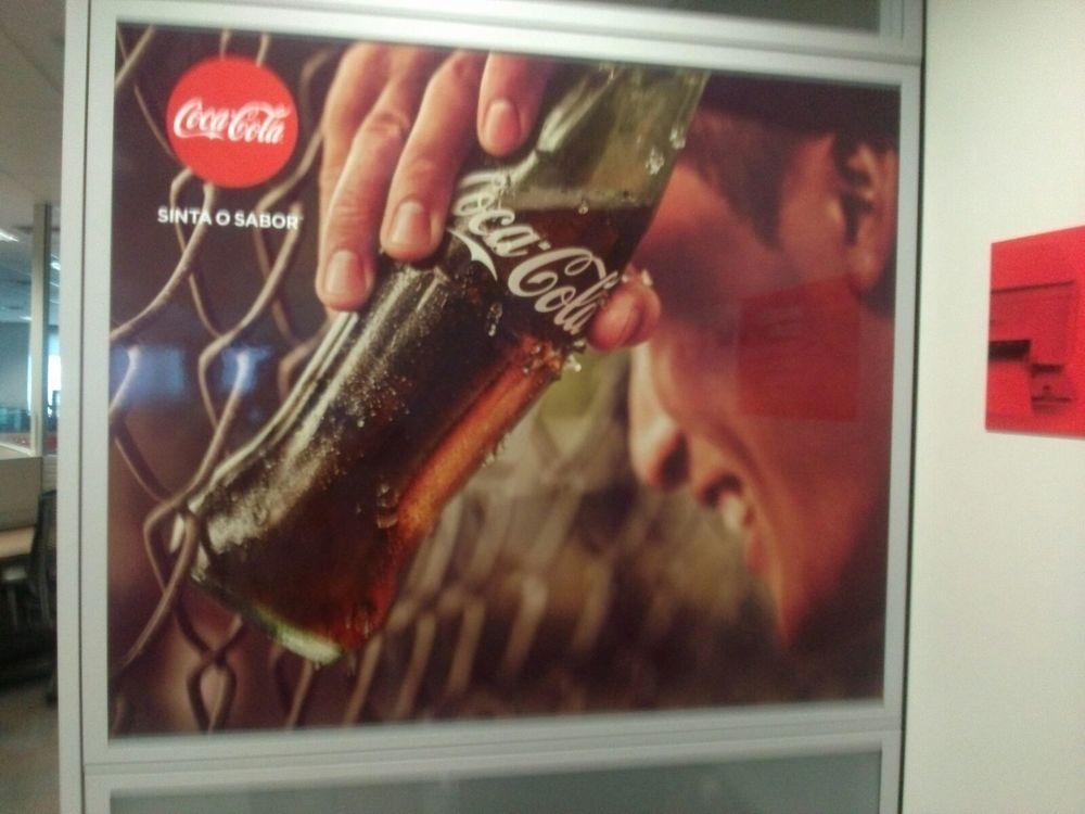 Escritório da Coca Cola   Cliente: Agência 3
