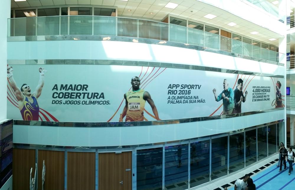 Cliente: Agência Sides    Adesivo Sportv