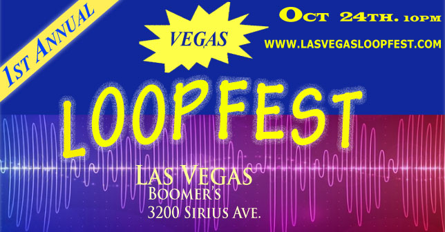 flyer for las vegas loopfest
