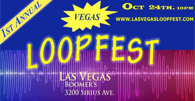 flyer for las vegas loopfest