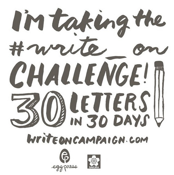 Write_On Day 3: Share this badge proudly! Want to learn more about #Write_On? Visit the resources section of writeoncampaign.com and download tools to help you throughout the challenge! You'll find:  30 Letter Log Sheet Envelope Liners Mailing Address Stickers Addressing Stencil . . . #letterpress #letterwriting #letterwritingmonth #freegift #gellyroll #coloringbookcard #coloringbook #writemoreletters #sakura #sakurapens #snailmail #snailmailideas
