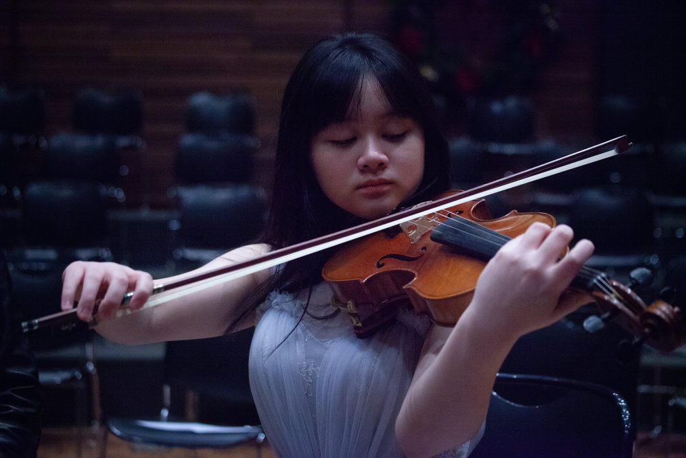 Hsin Lin Alice Lee - Violin