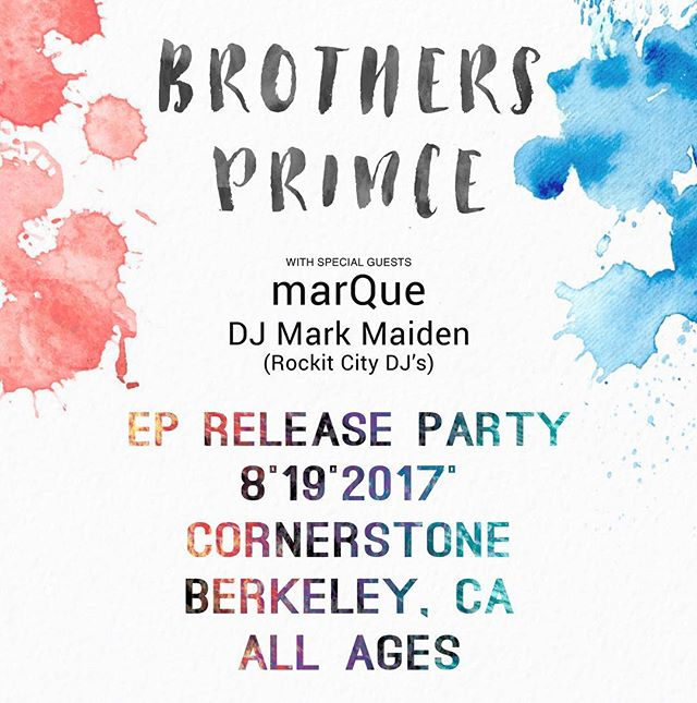 One month away from this. Who's coming?! #newmusic #party #bayarea