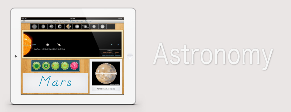 Solar System app by Mobile Montessori