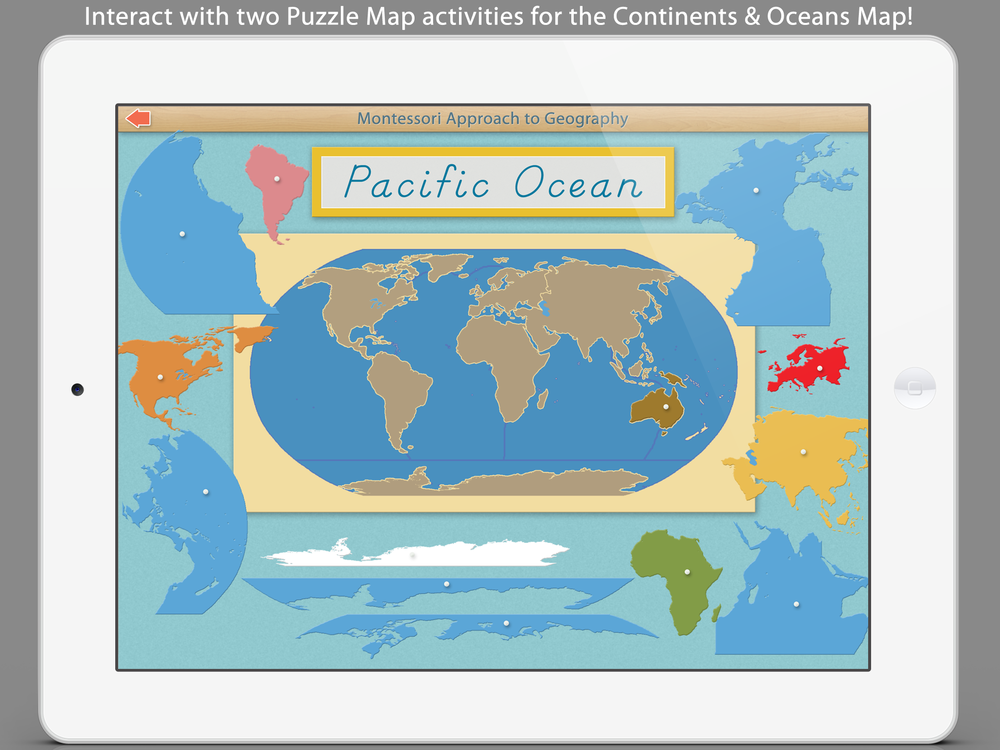 World continents and oceans mobile montessori sc5g freerunsca Image collections