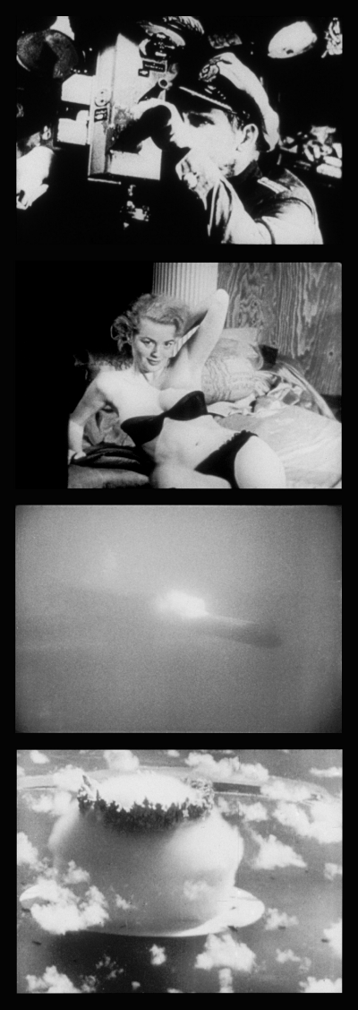 Stills from Bruce Conner's A MOVIE (1958, 16mm, b&w/sound, 12min.); All stills courtesy of the Conner Family Trust, San Francisco; © Conner Family Trust, San Francisco