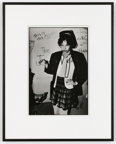"Bruce Conner, 27 PUNK PHOTOS: 08, Amy, 1978; Gelatin silver print; 13 x 8 3/4""; © Conner Family Trust, San Francisco"