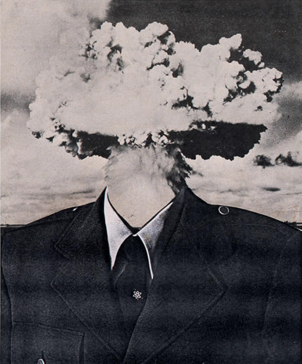 Bruce Conner, BOMBHEAD, 1989; ©Conner Family Trust, San Francisco / Artists Rights Society (ARS), New York