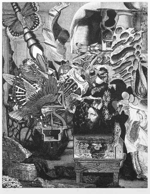 Bruce Conner  DHOMS Vol. II: No. II , 1972 Photoetching © Conner Family Trust, San Francisco / Artists Rights Society (ARS), New York