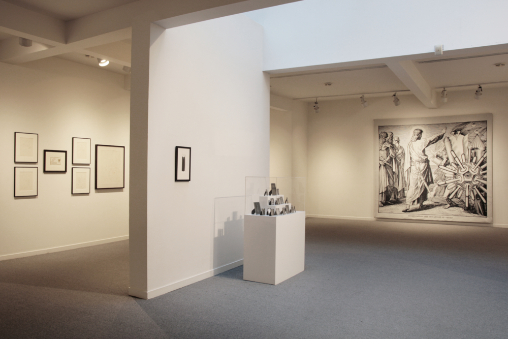 Installation view of Bruce Conner: Total Environment, Total Consciousness, Anglim Gilbert Gallery, 2016; © Conner Family Trust, San Francisco; Courtesy Anglim Gilbert Gallery, San Francisco