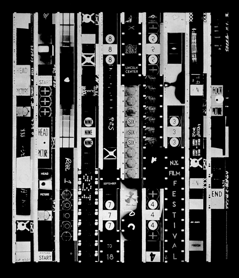 Bruce Conner, New York Film Festival poster of TEN SECOND FILM, 1965; Collection of Steven Fama; © 2016 Conner Family Trust, San Francisco / Artists Rights Society (ARS), New York; Photo: Ben Blackwell