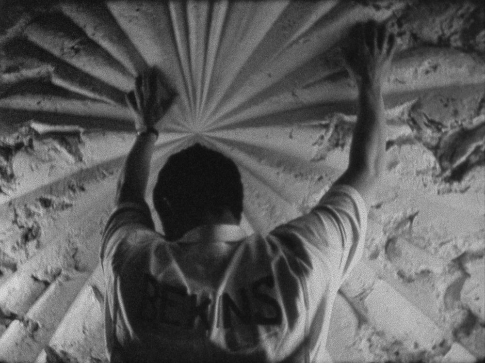 Bruce Conner, THE WHITE ROSE (1967, 16mm, b&w/sound, 7min.); © Conner Family Trust, San Francisco