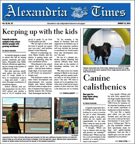 Alexandria Times, August 14 2014