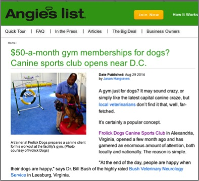 Angie's List, August 29 2014