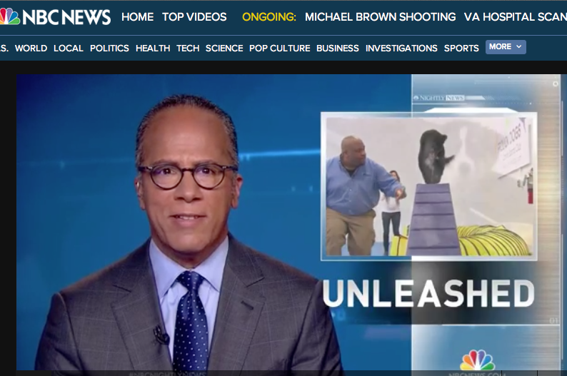 NBC Nightly News, November 1 2014