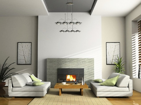 by Tips for Choosing Home Interior Color grey home interior design 2