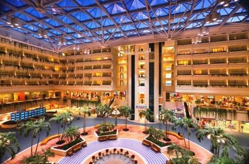 Hotel Hyatt Regency dentro do Aeroporto